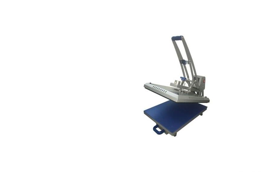 UKPress sík hőprés, 38 x 38 cmt, fél-automata, kihúzható munkatálca